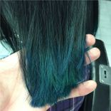 Blue hair colour
